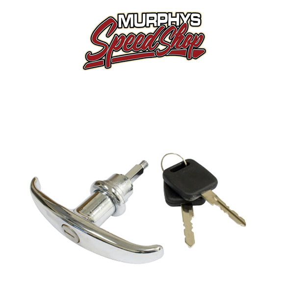 EMPI 211-829-231A DECK LID LOCK WITH KEYS, For Type 2 Bus 55-63