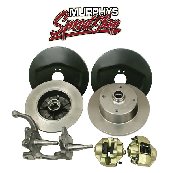 EMPI 22-2850 VW BUG BALL JOINT FRONT DISC BRAKE KIT, 4 LUG VW PATTERN