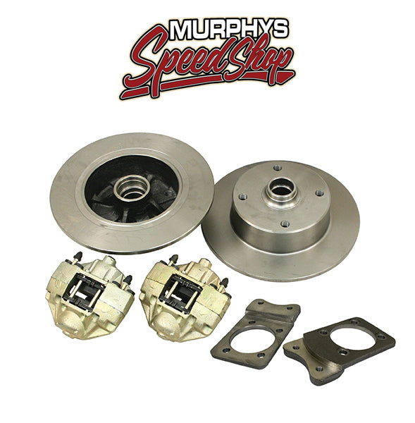 EMPI 22-2855 VW SUPER BEETLE FRONT DISC BRAKE KIT, 4 LUG VW PATTERN