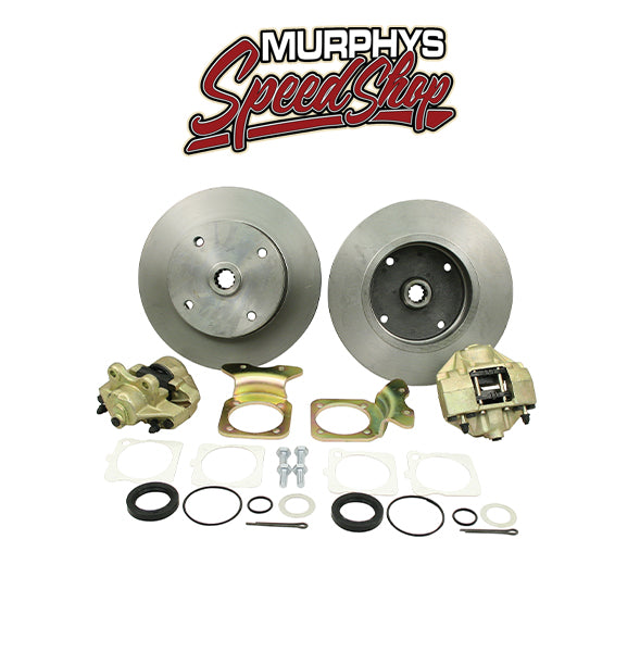 EMPI 22-2861 VW BUG REAR DISC BRAKE KIT 1968-1979, 4 LUG VW PATTERN