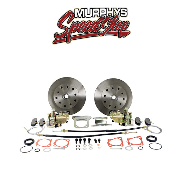 EMPI 22-2865 VW BUG REAR DISC BRAKE KIT 1958-1967, 4 LUG VW PATTERN