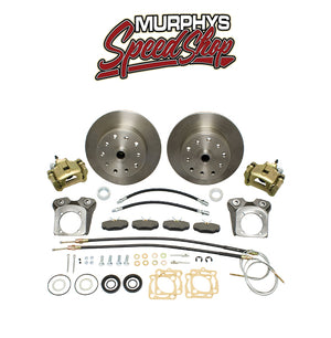 EMPI 22-2870 VW BUG REAR DISC BRAKE KIT 1968-1972, 4 LUG VW PATTERN
