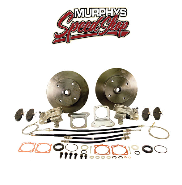 EMPI 22-2871-F VW BUG REAR DISC BRAKE KIT 1973-1979, 4 LUG VW PATTERN