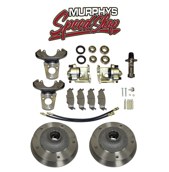 EMPI 22-2880 VW BUG KING PIN FRONT DISC BRAKE KIT 1949-1965, 5 LUG VW PATTERN