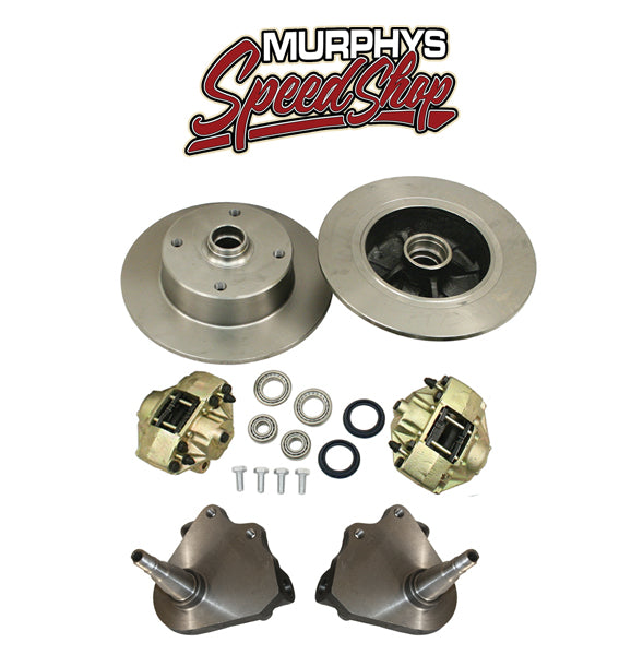 EMPI 22-2881 DROP SPINDLE KING PIN FRONT DISC BRAKES 1949-65, 4 LUG VW PATTERN