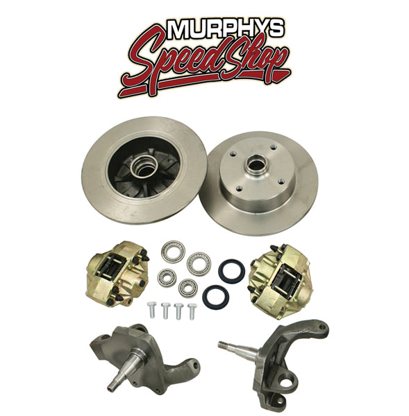 EMPI 22-2886 DROP SPINDLE BALL JOINT FRONT DISC BRAKES 1966-77, 4 LUG VW PATTERN