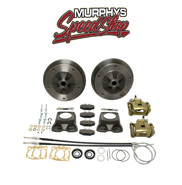EMPI 22-2905-F VW BUG REAR DISC BRAKE KIT 1958-1967, 5 LUG VW PATTERN