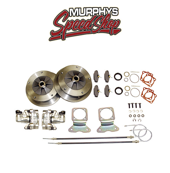 EMPI 22-2905 VW BUG REAR DISC BRAKE KIT 1958-1967, 5 LUG VW PATTERN