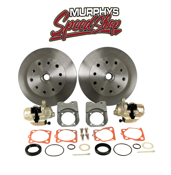 EMPI 22-2910-F DISC BRAKE KIT, 5 On 4-3/4 Chevy, Swing Axle Short Spline HD