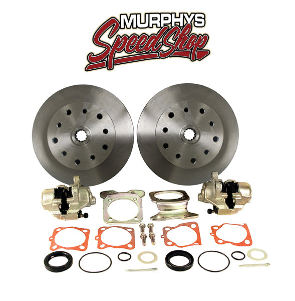 EMPI 22-2910 DISC BRAKE KIT, 5 On 4-3/4 Chevy, Swing Axle Short Spline