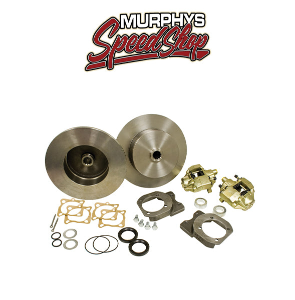 EMPI 22-2916-F VW BUG REAR DISC BRAKE KIT 1968-1979, BLANK NO LUG HOLES