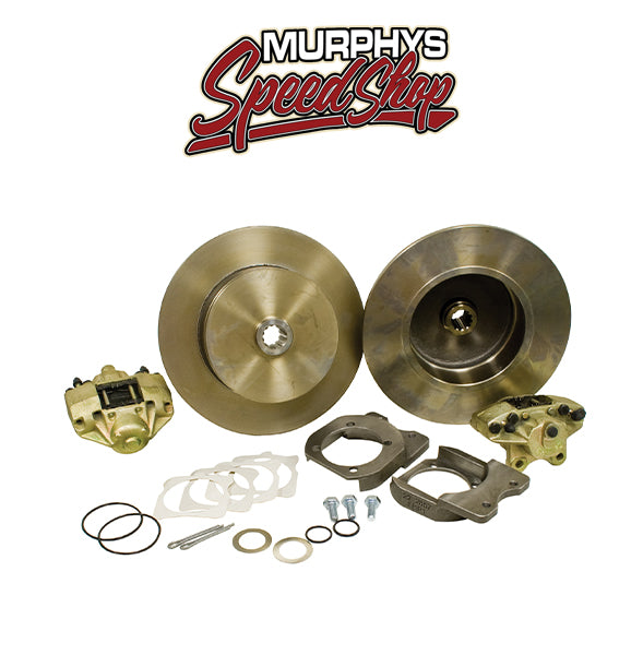 EMPI 22-2917 VW BUG REAR DISC BRAKE KIT 1958-1967, BLANK NO LUG HOLES