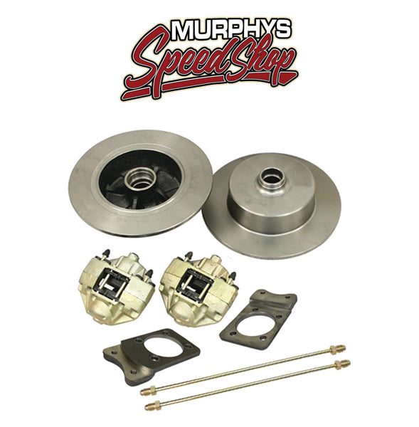 EMPI 22-2922 VW SUPER BEETLE FRONT DISC BRAKE KIT, BLANK NO LUG HOLES
