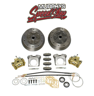 EMPI 22-2928-F VW BUG REAR DISC BRAKE KIT 1958-1967, 5 LUG VW PATTERN