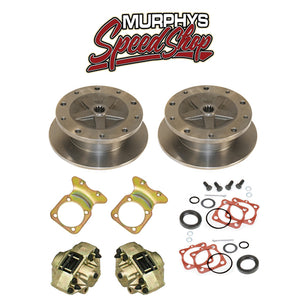 EMPI 22-2930 VW BUG REAR DISC BRAKE KIT 1958-1967, 5 LUG VW PATTERN