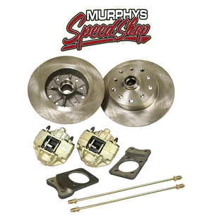 EMPI 22-2982 VW SUPER BEETLE FRONT DISC BRAKE KIT, 5 LUG PORSCHE/CHEVY PATTERN