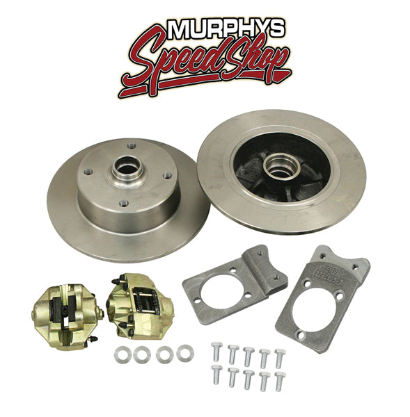 EMPI 22-2984 VW BUG BALL JOINT FRONT DISC BRAKE KIT, BLANK NO LUG HOLES