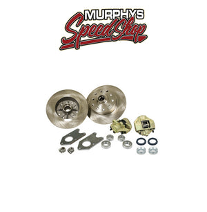 EMPI 22-2990 VW BUG KING PIN FRONT DISC BRAKE KIT, 5 LUG PORSCHE/CHEVY PATTERN