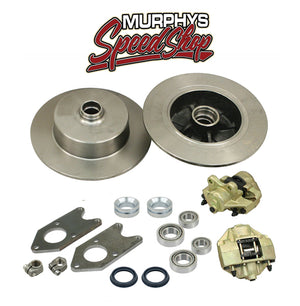 EMPI 22-2991 VW BUG KING PIN FRONT DISC BRAKE KIT, BLANK NO LUG HOLES