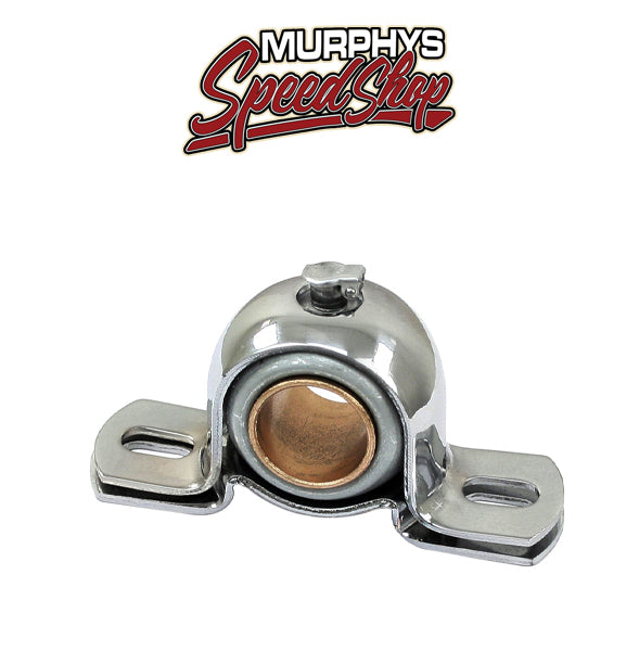 "EMPI 17-2803 Chrome Steering Shaft Bearing With Bushing For 3/4"" Diameter Shafts"