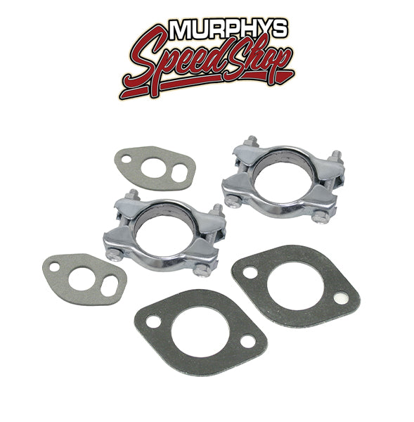 EMPI 3394 Air Cooled Vw Bug Engine Exhaust Muffler Clamp Kit 1200-1600cc,  Each