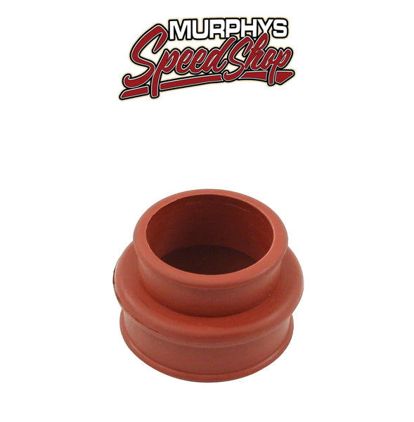 EMPI 3404-B Red Rubber Intake Boot Vw Bug Dual Port End Casting/Manifold, Each