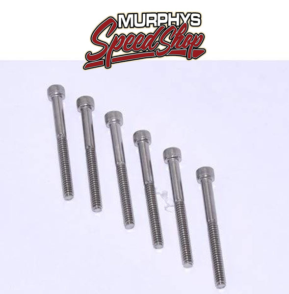 EMPI 3740 Replacement S/S End Cap Bolts, 6 pcs.
