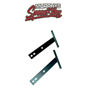 EMPI 3874 T-BAR BUMPER, Black, For Beetle 56-67, Pair