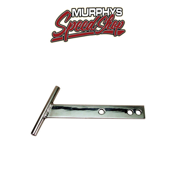 EMPI 3876 T-BAR Bumper, Polished Aluminum, For Beetle 54-67, Pair