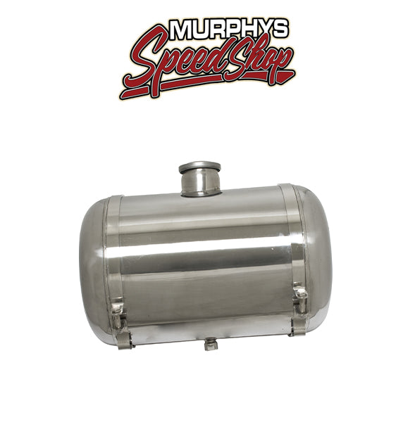 "EMPI 3895 Stainless Steel 10"" X 16"" Gas Tank - 10"" Diameter 16"" Long Center Fill"
