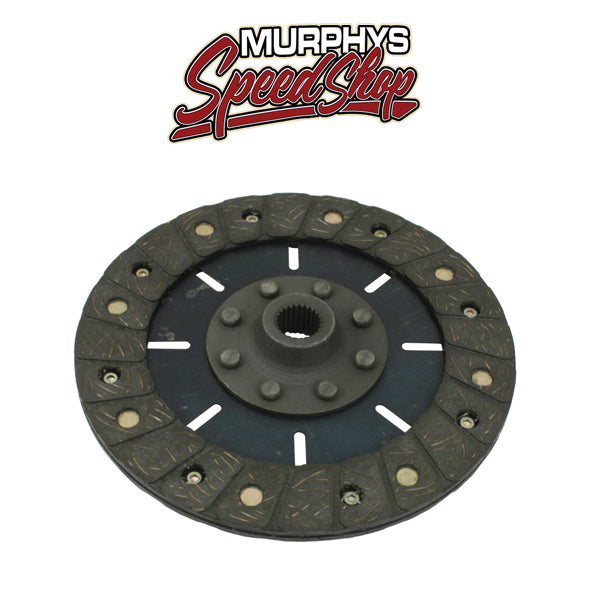 "EMPI 4096 Heavy Duty Kush Lok 200mm/8"" Rigid Clutch Disc Vw Spline Hole"