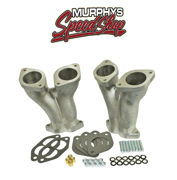 EMPI 43-1027 CNC PORTED INTAKE MANIFOLD, Offset, Stage 3, For IDF & HPMX