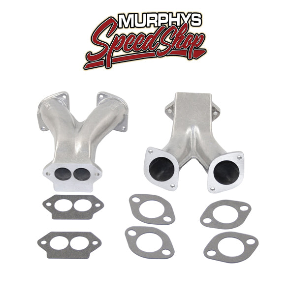 EMPI 43-5214 DUAL CARBS INTAKE MANIFOLDS, Racing Style For IDA and EPC-43-5214
