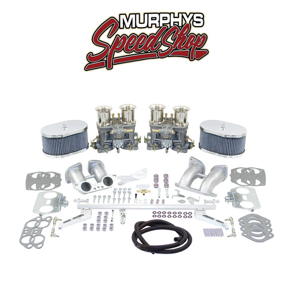 EMPI 43-7295 DUAL 44 IDF CARBURETOR KIT, For Type 2 & 4 VW 2000cc-43-7295