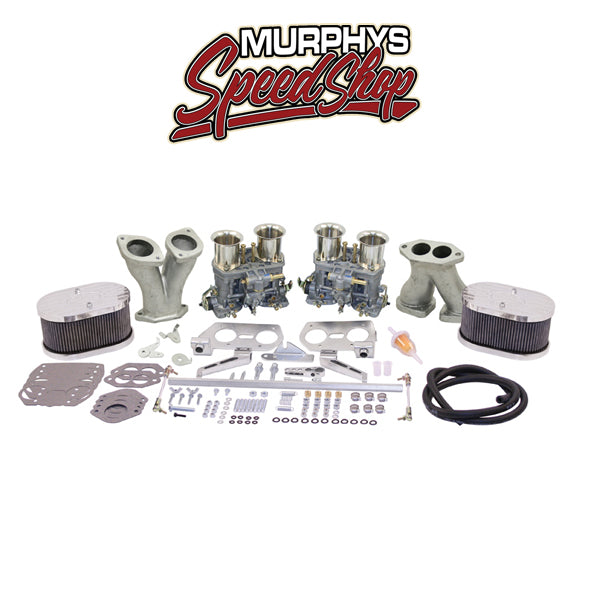 EMPI 43-8319 DUAL 44 IDF CARBURETOR KIT, By Weber DELUXE-43-8319