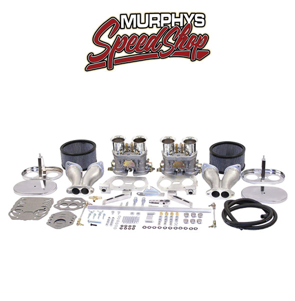 EMPI 44-1029 D-Series 45mm DELUXE Dual Carburetor Kit For Type-1 Engine Performance Carb