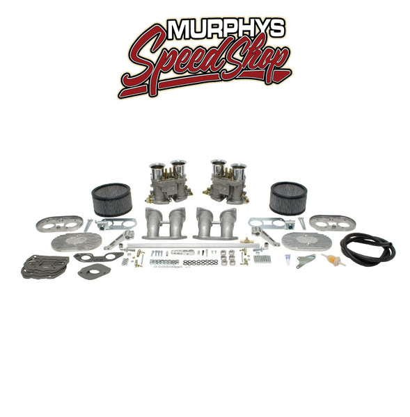 EMPI 44-1032 DUAL 45MM D-SERIES CARB KIT, Deluxe Kit For Type 4 VW-44-1032