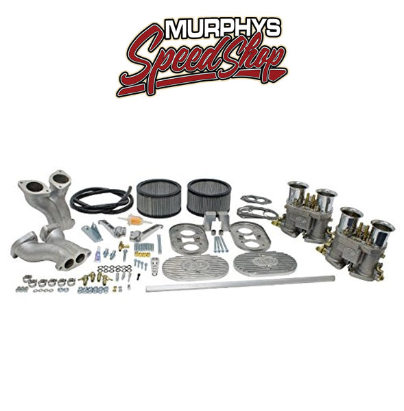 EMPI 44-1035 DUAL 45MM D-SERIES CARB KIT, Deluxe Kit For Type 3 VW-44-1035