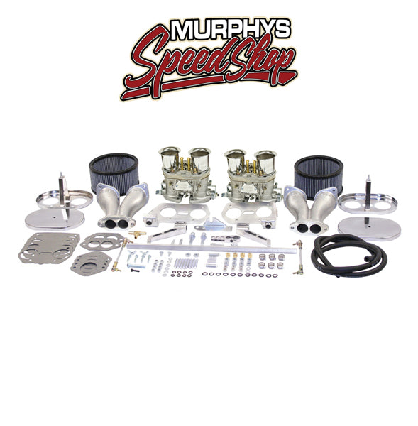 EMPI 43-7319 DUAL 44 IDF CARBURETOR KIT, By Weber-43-7319