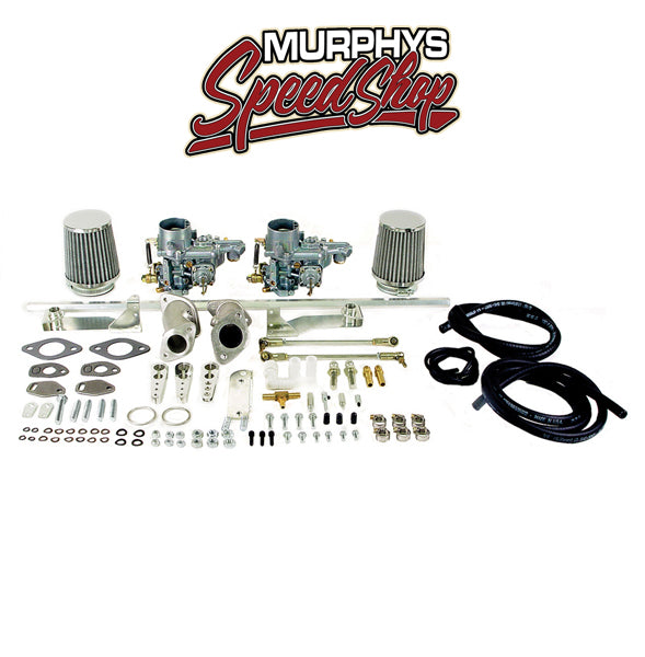 EMPI 47-7411 DUAL 34 EPC CARBURETOR KIT, Type 1 VW, Dual Port