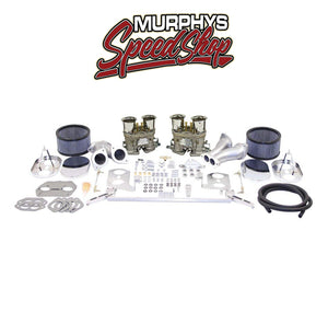 EMPI 47-8319-0 Dlx Dual 44 Hpmx Carb Kit, Vw Type 1