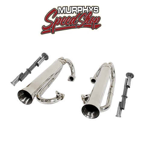 EMPI 56-3709 Stainless Buggy Dual Racing Exhaust System