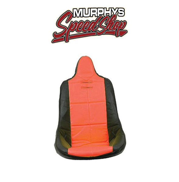 EMPI 62-2351 Red Vinyl High Back Poly Seat Cover. Dune Buggy Vw Baja Bug, Each