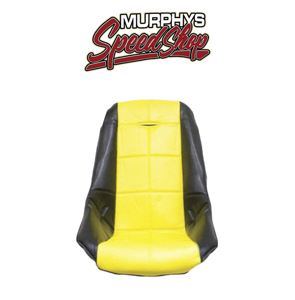 EMPI 62-2409 Yellow Vinyl Low Back Poly Seat Cover. Dune Buggy Vw Baja Bug, Ea