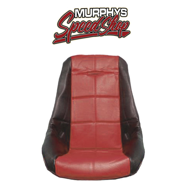 EMPI 62-2410 Red Vinyl Low Back Poly Seat Cover. Dune Buggy Vw Baja Bug, Each