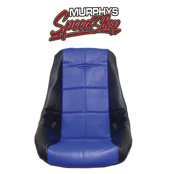 EMPI 62-2411 Blue Vinyl Low Back Poly Seat Cover. Dune Buggy Vw Baja Bug, Each