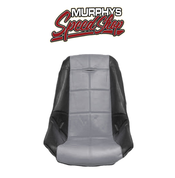 EMPI 62-2412 Grey Vinyl Low Back Poly Seat Cover. Dune Buggy Vw Baja Bug, Each