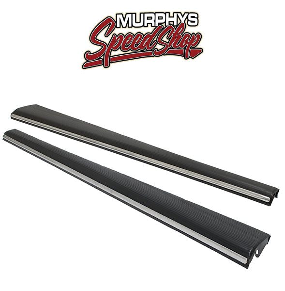EMPI 6831-B HD Stock Vw Bug Running Boards With 16mm Trim Moldings, Pair