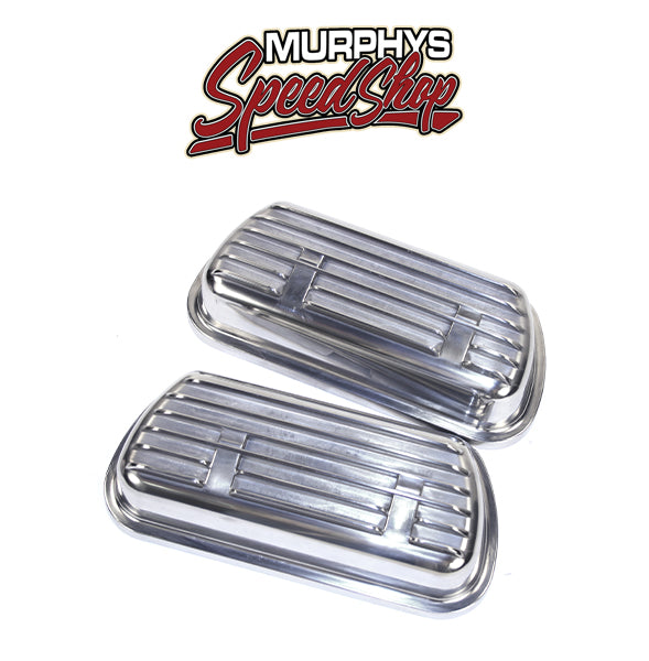 EMPI 9138 VALVE COVERS, Aluminum Clip On, Fits 1500cc & Up