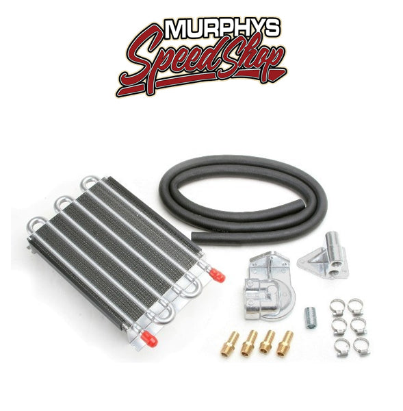 EMPI 9234 6 Pass Copper Tube External Barbed Oil Cooler Kit For Air-Cooled Vw
